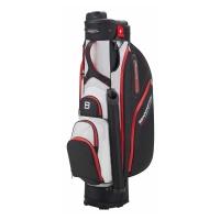 Bennington QO 9 Water Resistant Cartbag (black/white/red)