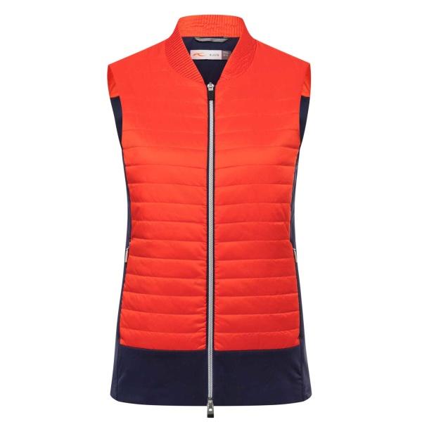 KJUS Retention Vest (fieryred/atlanta blue)