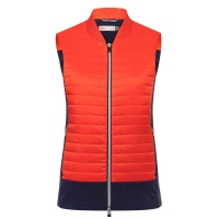 KJUS Retention Vest (fieryred/atlanta blue)