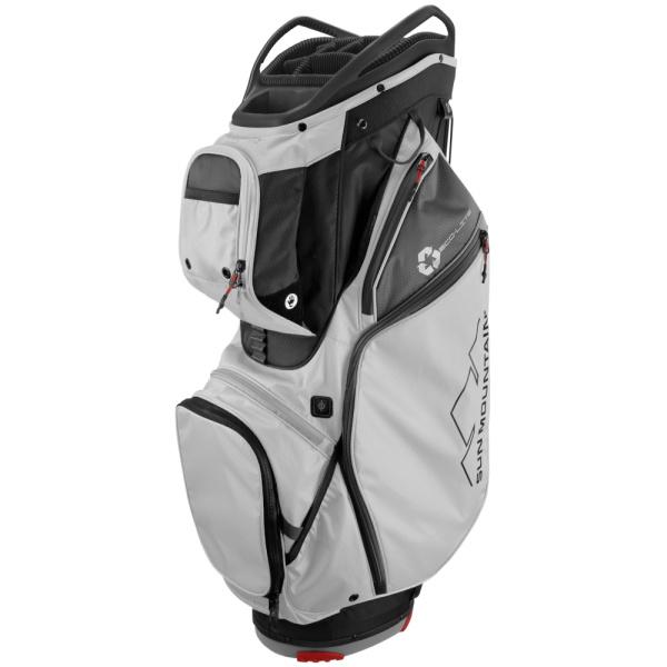 Sun Mountain ECOLITE Lite Water Resistant Cartbag (black/white/gunmetal/red)