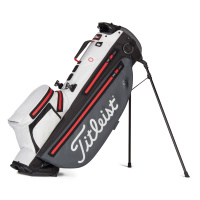 Titleist Players 4+ StaDry Standbag (charcoal/white/red)