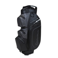 TaylorMade Storm-Dry Waterproof Cartbag (black/charcoal)