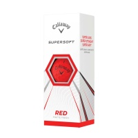 Callaway Supersoft Matte Red (12 Stk.)