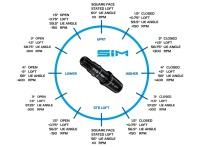 TaylorMade SIM Max Driver (12°) UST Mamiya Helium 4F2 (A-Flex) - DEMO A