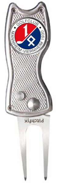 "Pitchfix ""Classic"" aus Metall mit Logoballmarker GCMV"