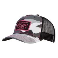 TaylorMade Lifestyle Trucker Cap (black camo/pink)