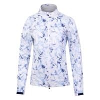 KJUS Dextra 2.5 Print Regenjacke (white/atlanta blue)