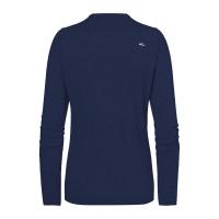 KJUS Kicki V-Neck Pullover (atlanta blue melange)