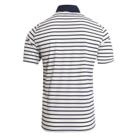 KJUS Luis Multi Stripe Polo (white-squash/yellow)