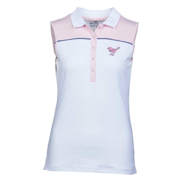 """girls golf sleeveless Polo """"inspired"""""""