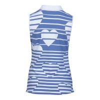 "girls golf sleeveless Polo ""hearts in the sky"""