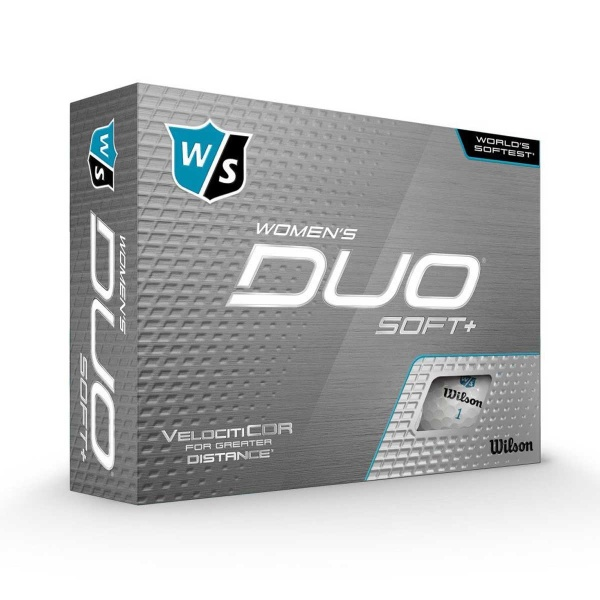 Wilson Staff Duo Soft+ Women´s (12 Stk.)
