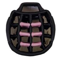 BigMax Dri Lite Style 360 Cartbag (white/pink)