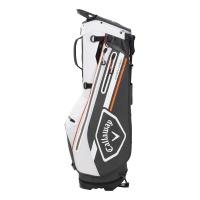 Callaway Chev Dry Stand Bag (charcoal/white/orange)