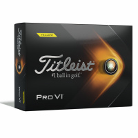 Titleist Pro V1 yellow (12 Stk.)