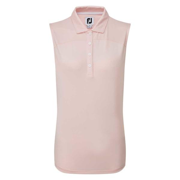 FootJoy Polo Jersey sleeveless (blush pink)