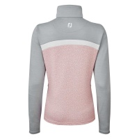 FootJoy Curved Colorblock Jacket (blush pink/grey)