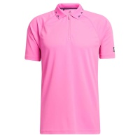 adidas Equipment Zipper Pique POLO Polo (screaming pink)