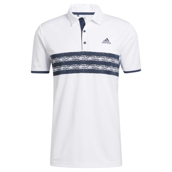 adidas Core Polo Left Chest (white/crew navy)