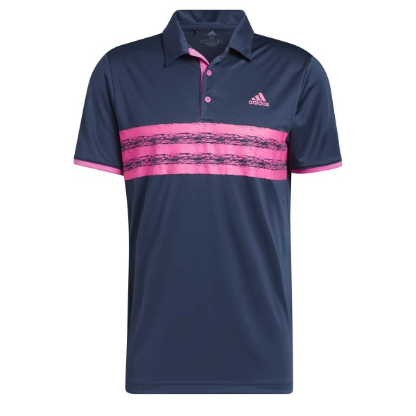 adidas Core Polo Left Chest (crew navy/screaming pink)
