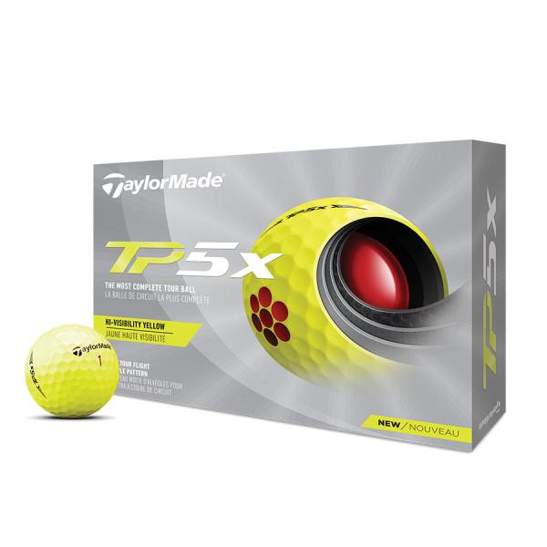 TaylorMade TP5x yellow (12 Stk.)