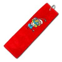 Die Schlümpe Schlägertuch (rot)