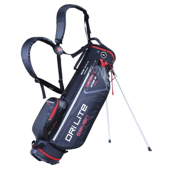 BigMax Dri Lite Seven Standbag (black/red)