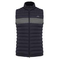 KJUS blackcomb Vest (deep space steel/grey melange)